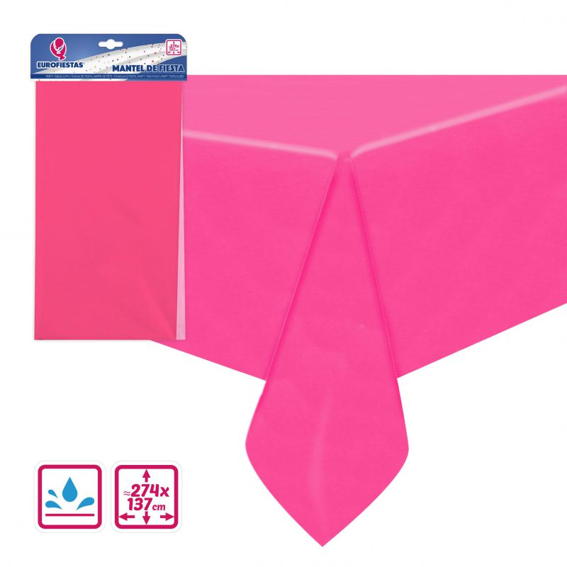 MANTEL REUSABLE 137*274CM ROSA