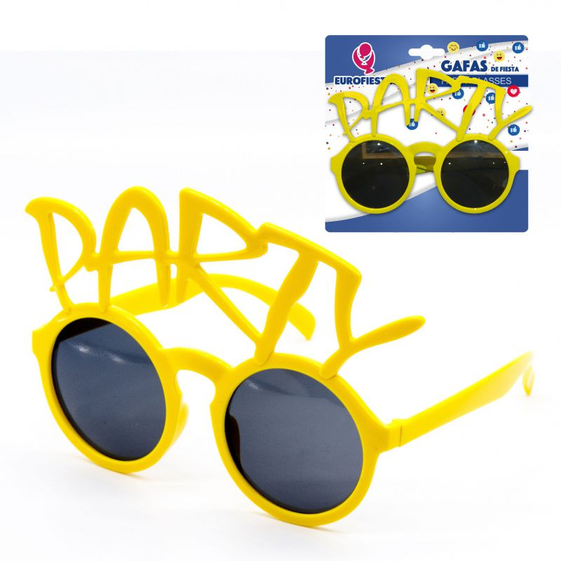 gafas de fiesta party